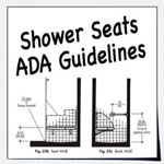 ADA Shower Seats For Shower And Bathtubs