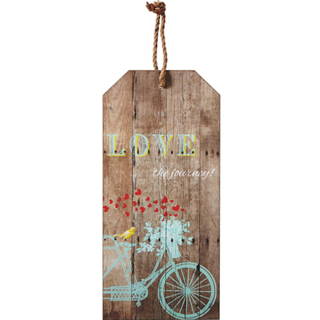 Love the Journey Bicycle Wall Decor