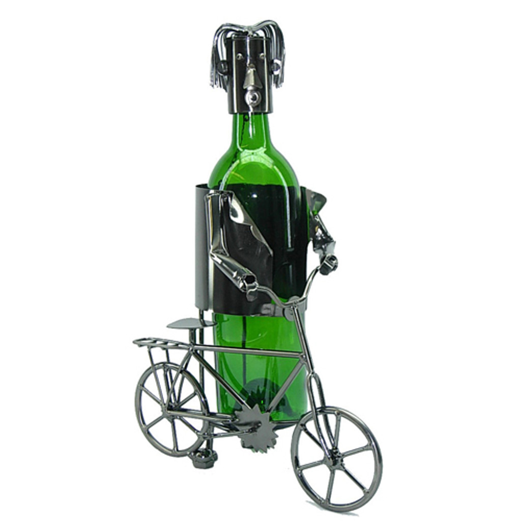 Recreational Cyclist Wine Caddy