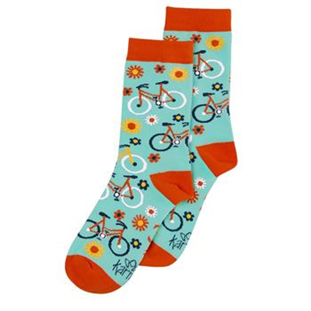Sunshine Women's Bicycle Sock