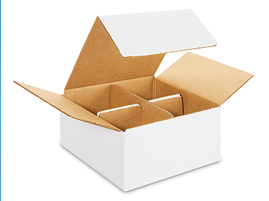 Four pack gift box