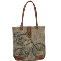 Good Times Roll Bicycle Canvas Bag