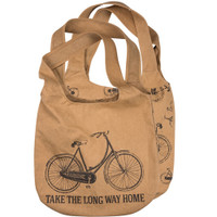 Long Way Home Bicycle Market Bag