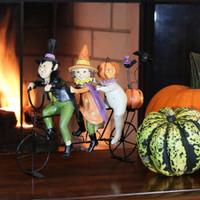 Spooky Halloween Bicycle Sculpture