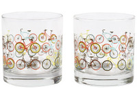 Bicycle Ride Tumbler Set of 2