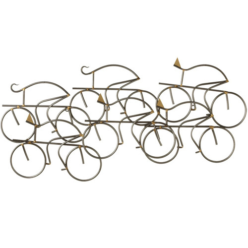 Cycling Friends Wall Art