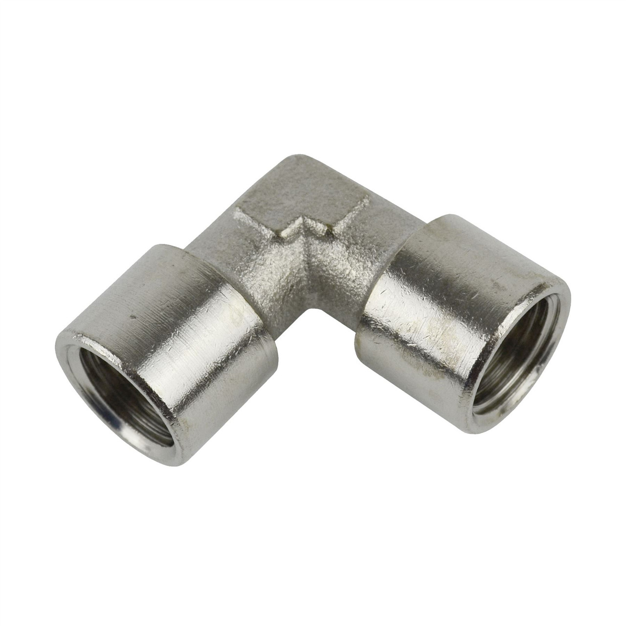 """3/8"""" BSP Elbow 90 Degree Angle Fitting Female to Female Air Line Pipe FT065"""