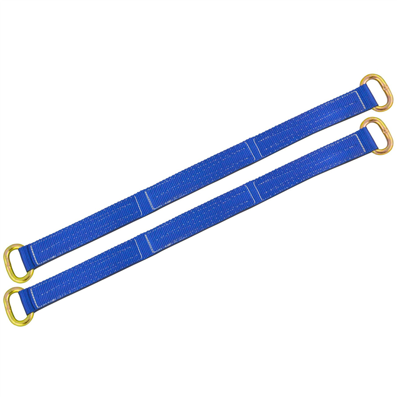 "Wheel Bridging / Link / Strap (pair) Trailer Tie Down Car Recovery 30"" SM010"