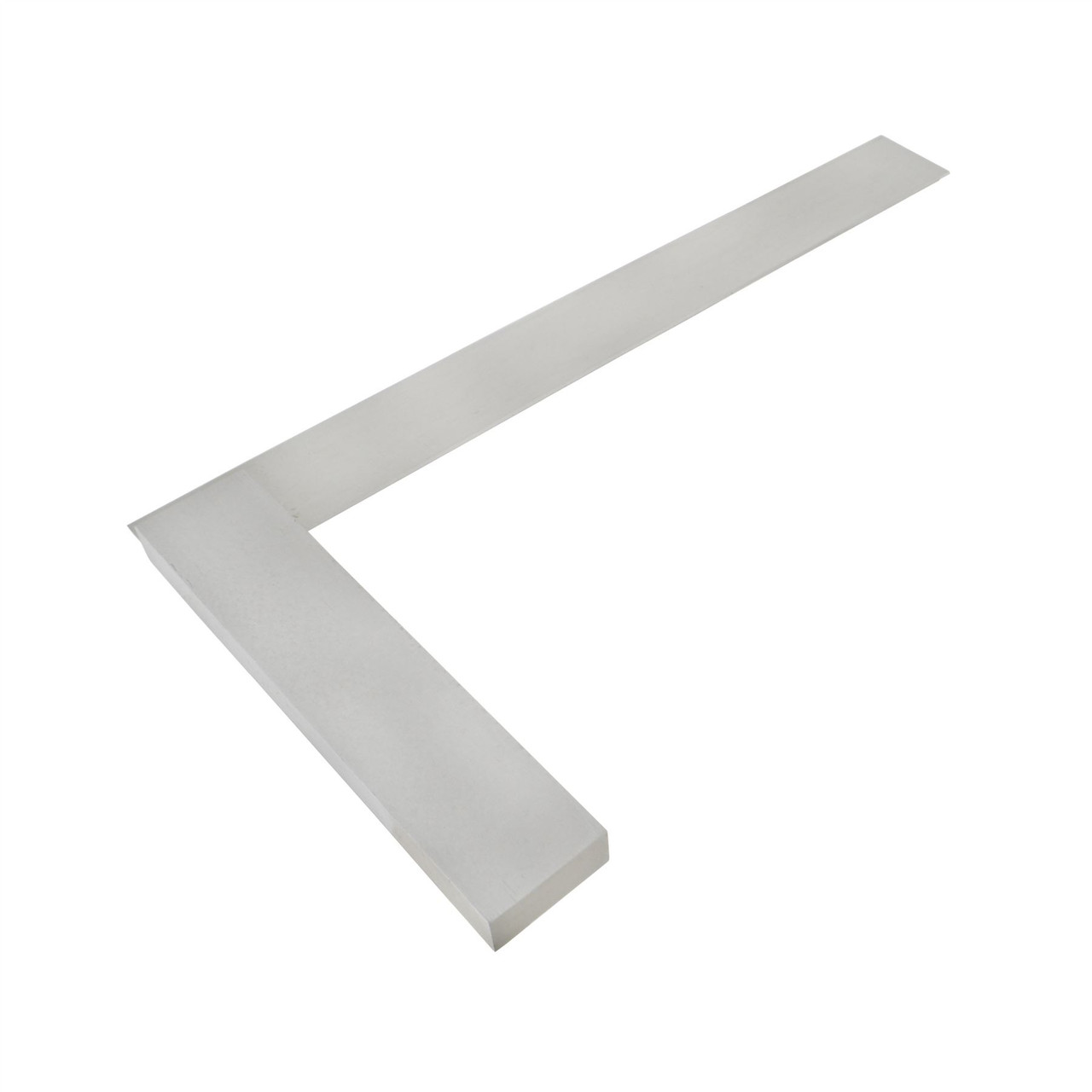"""12"""" (300mm) Engineers Tri Square Set Square Right Angle Straight Edge Steel SIL123"""
