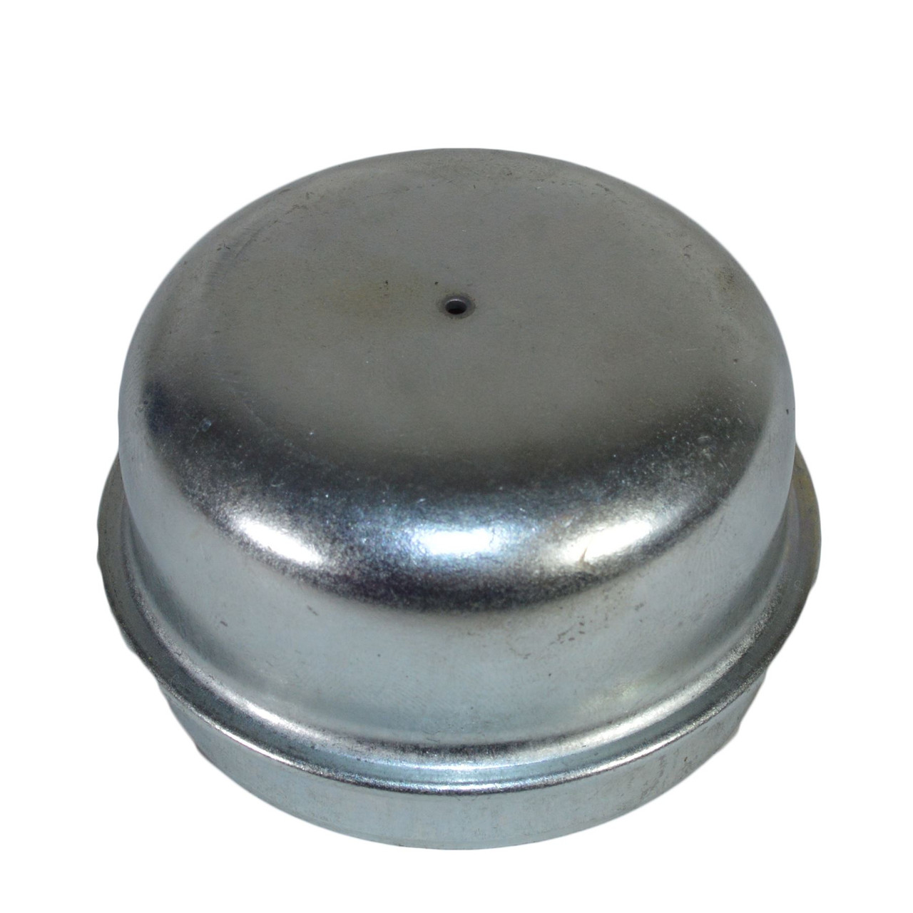 """Trailer Cast Wheel Hub 100mm PCD 1"""" Taper Bearing 4 Stud With Nuts And Cap"""