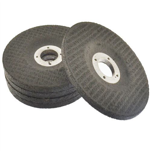 """4 1/2"""" Depressed / Dished Centre Metal Grinding Disc Stainless Steel AT850_5Pk"""