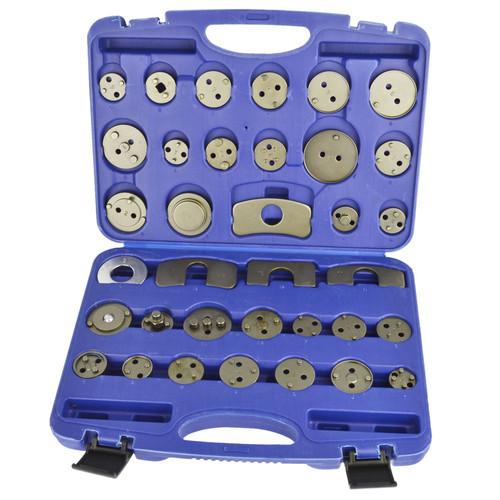 Brake Calliper Pad Piston Wind Back Adaptor Set 35pcs Kit BERGEN AT884