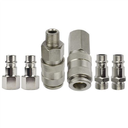Air Line Compressor Connector EURO Fittings Quick Release Coupling Set  FT011