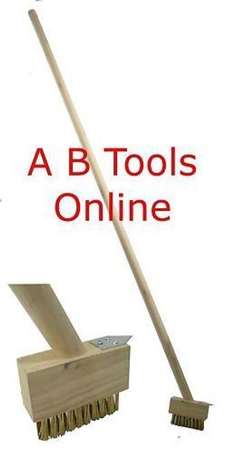 Extra Long Patio Weed Brush / Weeding Tool / block paving brushes GAR07