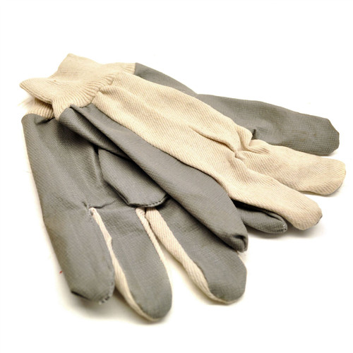 Multipurpose Garden / Work Gloves leather palm lightweight cotton GAR29