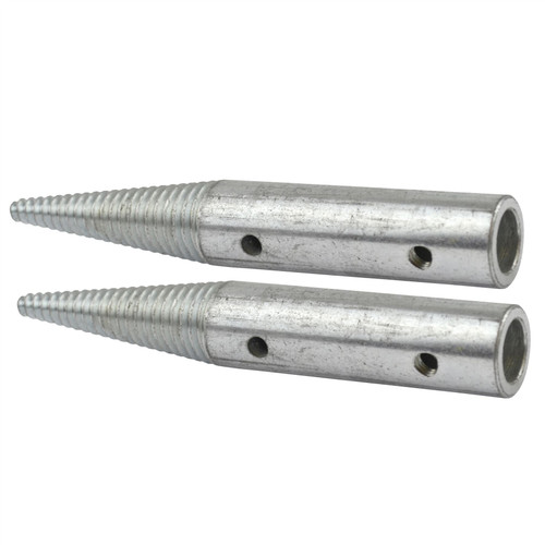 """Polishing Spindle 5/8"""" 8"""" Bench Grinder Left and Right Hand Spindles POL89_90"""