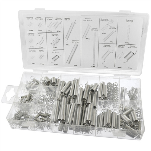 Springs Set Extension Tension Compression Extended Compressed 200pc AST23