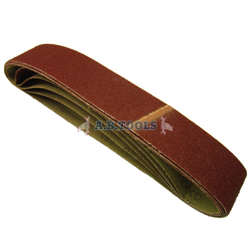 10 Pack Sanding Belts 80 Grit 686 x50mm Tool Sander Grinder Woodwork File SIL65