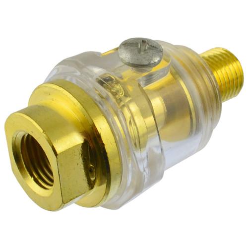 """In line Air Tool Oiler Lubricator 6mm 1/4"""" BSP SIL90"""