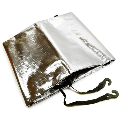 Aluminium Polyethylene  Windscreen Protector Ice / Snow / Heat Cover SIL204