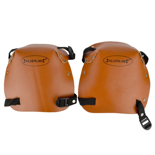 Knee Pads Leather Work Wear Safety Protective Clothing Kneeling Gardening SIL266