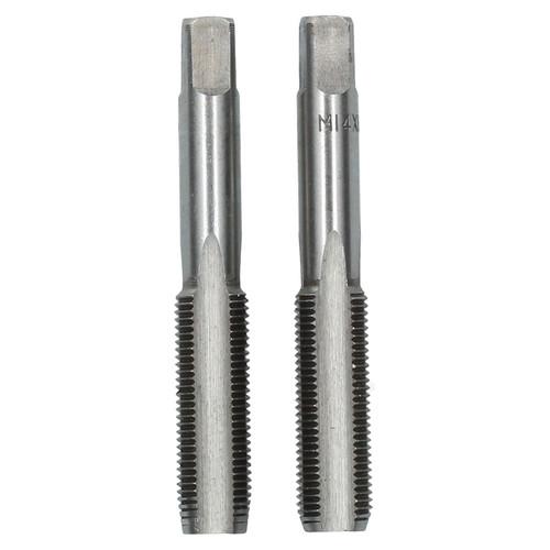 M14 x 1.5mm Metric Tap Set, Tungsten Steel, Taper and Plug Thread Cutter TD006