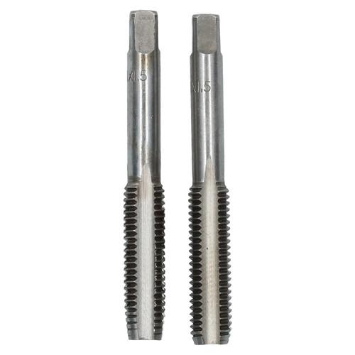 M11 x 1.5mm Metric Tap Set, Tungsten Steel, Taper and Plug Thread Cutter TD014