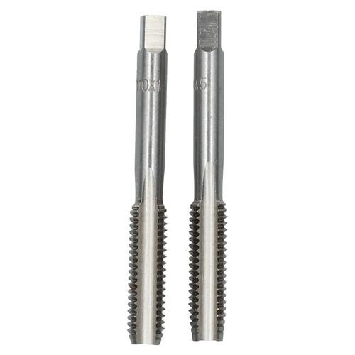 M10 x 1.5mm Metric Tap Set, Tungsten Steel, Taper and Plug Thread Cutter TD018