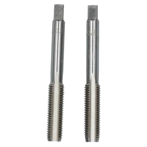 M10 x 1.25mm Metric Tap Set, Tungsten Steel, Taper and Plug Thread Cutter TD019