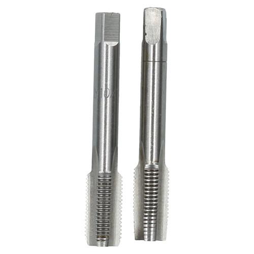 M10 x 1mm Metric Tap Set, Tungsten Steel, Taper and Plug Thread Cutter TD020