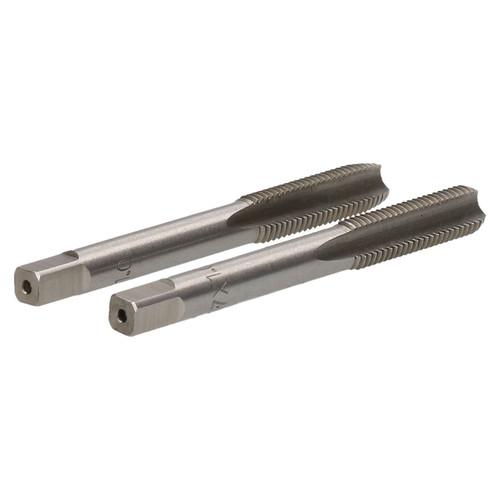 M7 x 1mm Metric Tap Set, Tungsten Steel, Taper and Plug Thread Cutter TD028