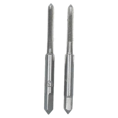 M3 x 0.5mm Metric Tap Set, Tungsten Steel, Taper and Plug Thread Cutter TD034