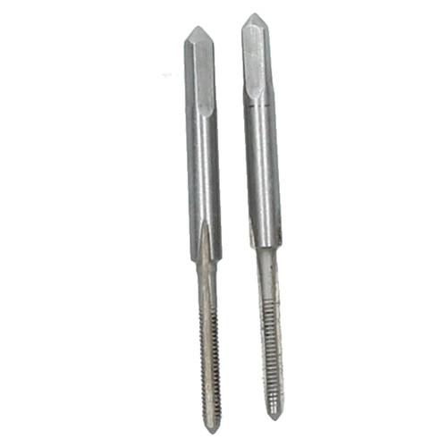 M2 x 0.4mm Metric Tap Set, Tungsten Steel, Taper and Plug Thread Cutter TD035