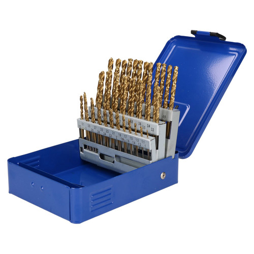 Engineers Fractional Drill Bit Set HSS 1-6mm in 0.1mm Increments 51pc AT020