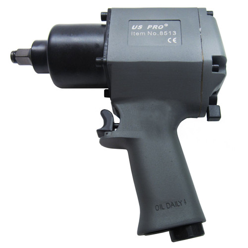 """Impact wrench / gun / ratchet 1/2"""" drive  590 ft/lbs U S Pro Tools AT039"""