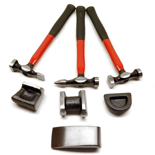 7pc Professional Drop Forged Body Repair Kit TE140