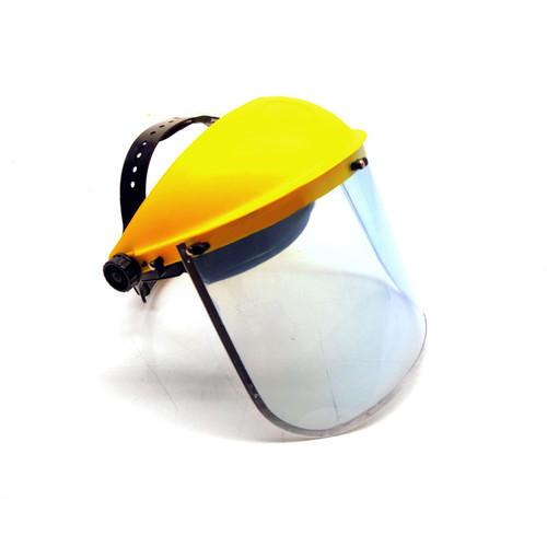 Safety Face Shield Mask Flip Visor Clear Protector Eye Protection TE212