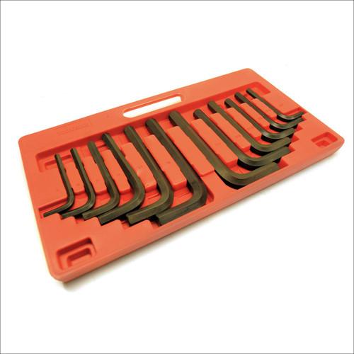 Jumbo Allen Hex Key Set Metric AF Imperial 12pc Set Large Sizes Allan Alan TE233