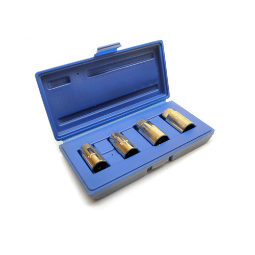 Stud Extractor Roller Remover Bolt Removal Socket 4pcs Metric or Imperial TE254