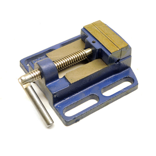 "Machine Vice for Pillar Drill Press / Hand Clamp 63mm (2-1/2"") Vise TE273"