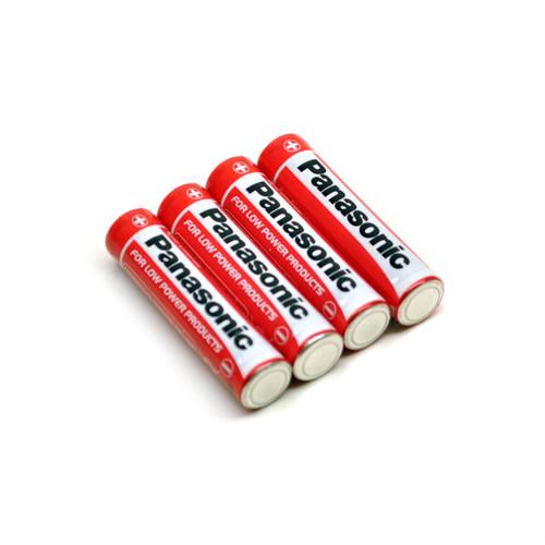 AAA Panasonic Batteries / Battery Pack of 4 TE466
