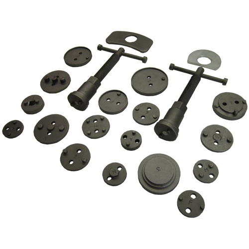 21pc Left and Right Hand Brake Calliper  Piston Wind Back Tool Kit TE521