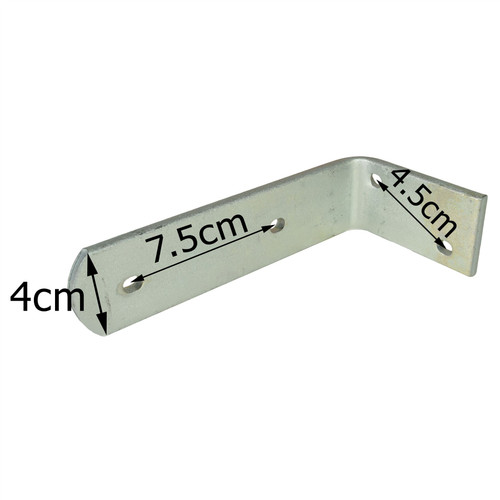 Trailer Mudguard Angle Bracket HEAVY DUTY 90 degree Corner Brace TR083 (SMALL)
