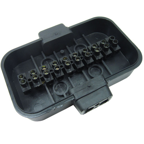 Trailer Lighting / Electrics Junction Box 10 Way TR129