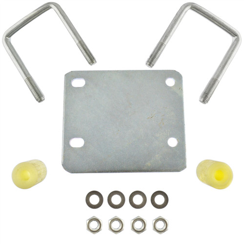 Trailer Jockey Wheel Clamp Fixing Kit Easy Fit NO DRILLING Erde Daxara TR184
