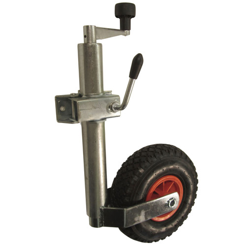 Heavy Duty Pneumatic Jockey Wheel with Clamp Mount for Erde Daxara TR005_TR184