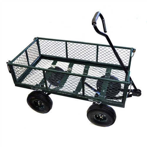 LOG Garden cart utility Truck Heavy Duty Steel Construction