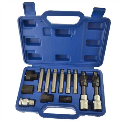 Alternator tool set / repair / removal / pulley / BOSCH 13pc kit AT169