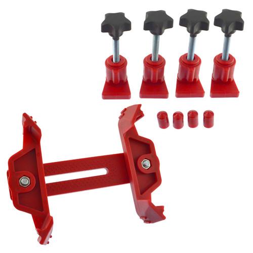 5pc Master Universal Single Twin Quad Cam Clamp Locking Timing Tool Kit Camshafts