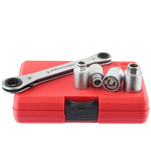 Go - Thru Socket Extractor Installer Remover Roller Type Set 6mm - 12mm 5pc
